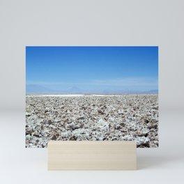 Salar de Atacama in Chile Mini Art Print