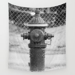 Eddy Valve Company Two Piece Barrel Fire Hydrant Waterford NY Fire Plug Wall Tapestry