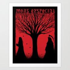 Mors Exspectat Art Print
