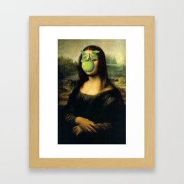 GIOCONDA MAGRITTE Framed Art Print