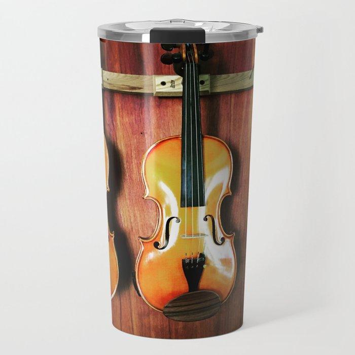 Einstein's Violins Travel Mug