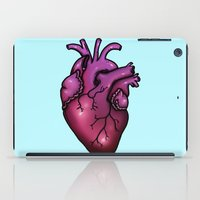 anatomical heart iPad Cases featuring Anatomical Heart by Hungry Designs