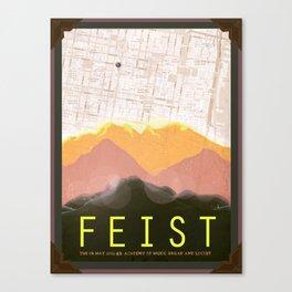 Feist  Canvas Print