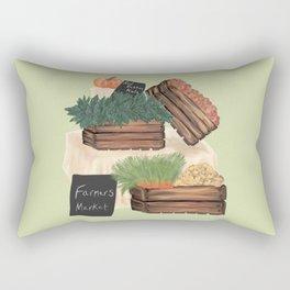 Farmers' Market Rectangular Pillow