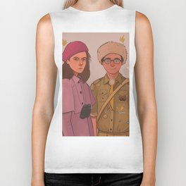 Sam and Suzy (Moonrise Kingdom by Wes Anderson) Biker Tank