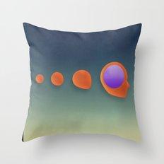 GEODETIC Evolution Throw Pillow