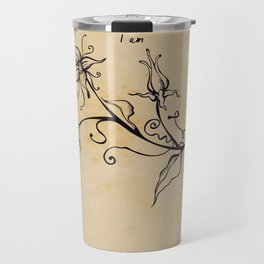 Sylvia Plath - I am Travel Mug