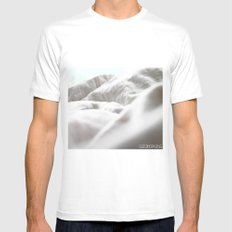Goodmorning Mint MEDIUM Mens Fitted Tee White