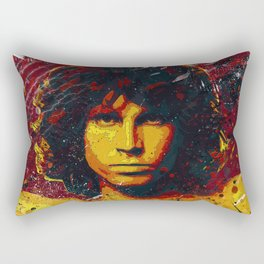 Jim Morison (the doors) | Pop Art | Old School Collection Rectangular Pillow