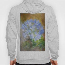 Agapanthus in Blue Hoody