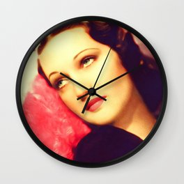 Dorothy Lamour, Vintage Actress Wall Clock