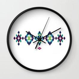 B-diamond #1 Wall Clock