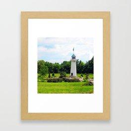 Hershey's Lighthouse Framed Art Print