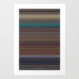 Kill Bill Vol.1 - Use of Color Art Print