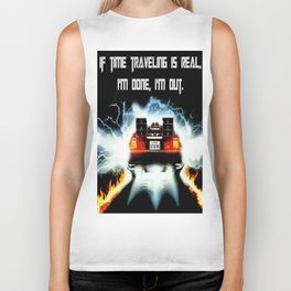 Time Travel Biker Tank