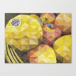 Manzanas, Apples Canvas Print