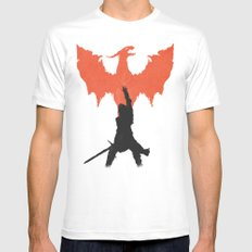 Dragon Age: Inquisition V1 X-LARGE White Mens Fitted Tee