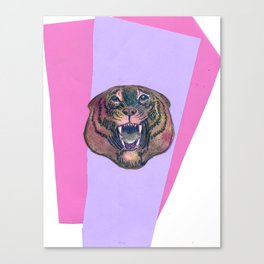 Vintage Roar Canvas Print