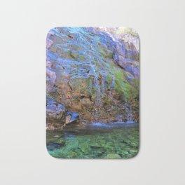 clear green water Bath Mat