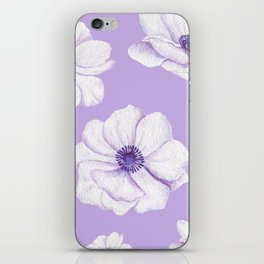 Anemones 2 #society6 #buyart iPhone Skin