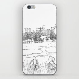 Trinity Bank with friends iPhone Skin