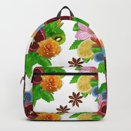 Fruit bouquet. Backpack