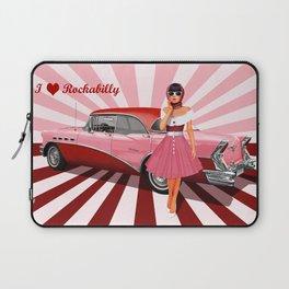 I love Rockabilly Laptop Sleeve