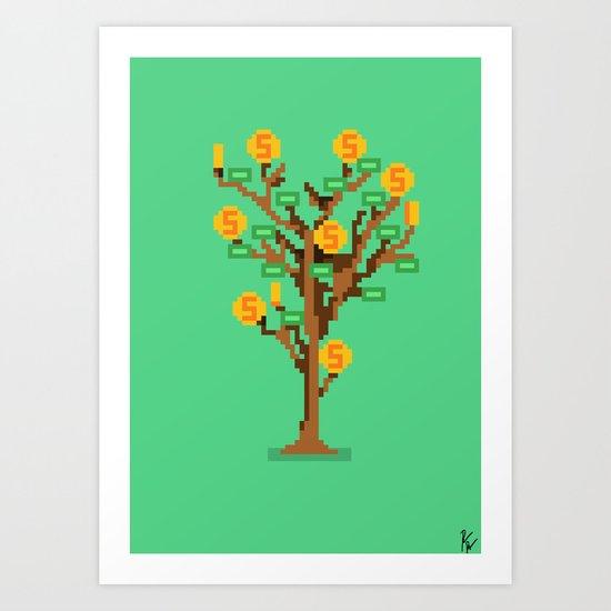 Money Trees Art Print
