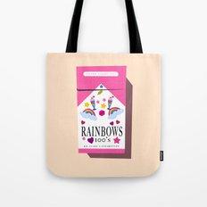 Smoking Rainbows Tote Bag