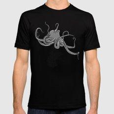 Octopus Black MEDIUM Mens Fitted Tee