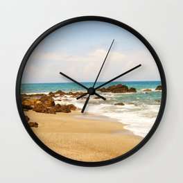 Montezuma Beach Wall Clock