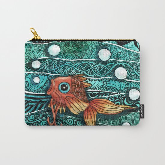 Baby Koi Tangle 2 Carry-All Pouch