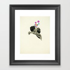 First Kiss Framed Art Print