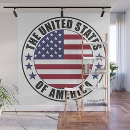The United States of America - USA Wall Mural
