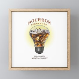 A Turn On- BJBS Framed Mini Art Print