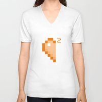 half life V-neck T-shirts featuring PAUSE – Half of Life 2 by PAUSE