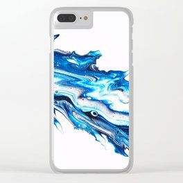 Icy Shiver Clear iPhone Case
