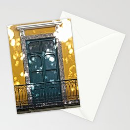 Old Balconies in Rio - 12 Stationery Cards