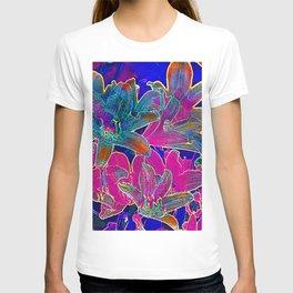 Color lilies  T-shirt