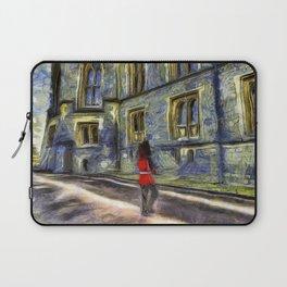 Windsor Castle Coldstream Guard Art Laptop Sleeve