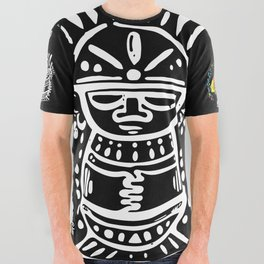 Mestizo Roots All Over Graphic Tee