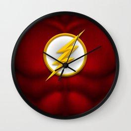 Flash: Superhero Art Wall Clock