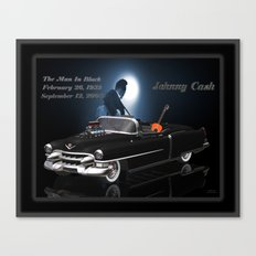 My #JohnnyCash tribute Canvas Print