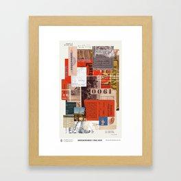 American Dreamers // Israel Bayer Framed Art Print