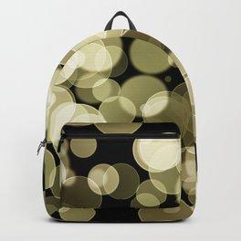 Golden Bokeh Backpack