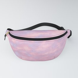 Cotton Candy Cloud Cover Fanny Pack