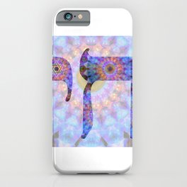 Colorful Art - Chai 2 - Sharon Cummings iPhone Case