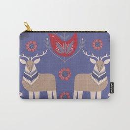 Scandinavian Winter Pattern #society6 #buyart Carry-All Pouch