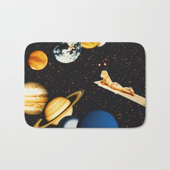Planetary dream Bath Mat