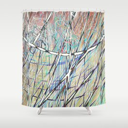 SL Candy Shower Curtain
